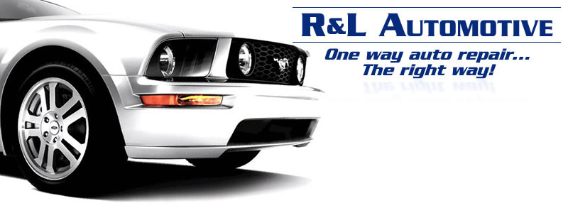 One Way Auto >> R L Automotive One Way Auto Repair The Right Way